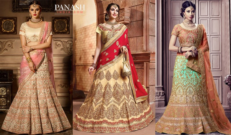 572e57fca8 Wedding Trends 2018: The Pastel New Shades In Lehengas